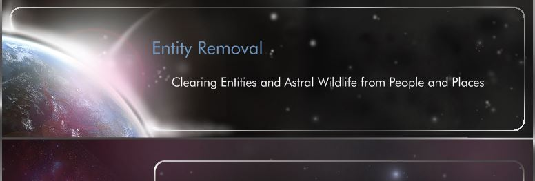 Entity Removal - What are Entities?